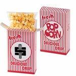 Striped Popcorn Box - Cheddar Popcorn