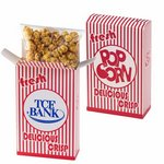 Striped Popcorn Box - Caramel Popcorn