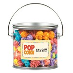 Large Paint Cans with Corporate Color Popcorn