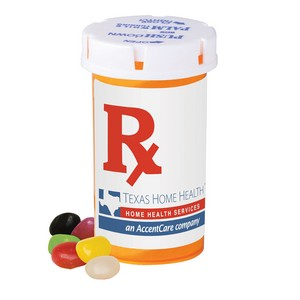 Large Pill Bottle - Jelly Beans (Assorted)