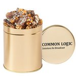 Gourmet Popcorn Tin (Quart) - Chocolate Pretzel & Potato Chip Pop