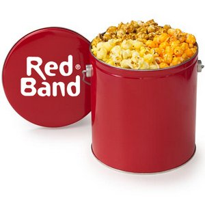 Gallon Popcorn Tins - Original Trio