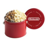 Half Gallon Popcorn Tins - Savory & Sweet Selections