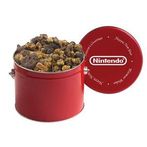 Half Gallon Popcorn Tins - Candy Bar Creation