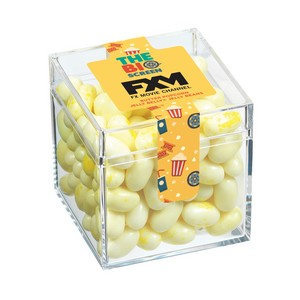 The Big Screen Cube with Butter Popcorn Jelly Belly Jelly Beans