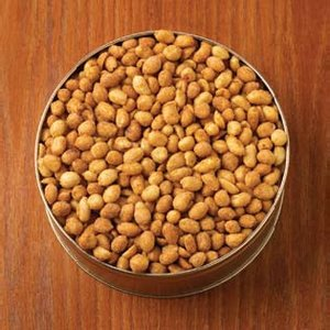 Honey Roasted Peanuts Custom Gift Tin 48 oz.