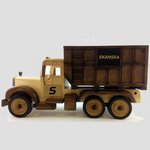 Dump Truck Hand Made Filled with Chocolate Almonds