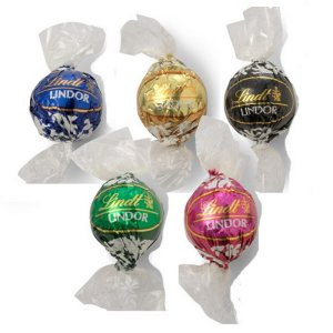 Individually Wrapped Lindor of Switzerland Ball