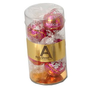 5 Individually Wrapped Switzerland Lindor Balls in Small Tube