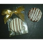 Chocolate Dipped Fancy Sandwich Cookie