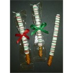 Single Chocolate Dipped Pretzel Rods