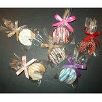 Chocolate Dipped Fortune Cookie Party Favor