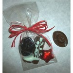 Cowboy Trio - Milk Chocolate Foil Wrapped