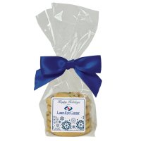 Fresh baked cookies in gift bag with Birthday  decal