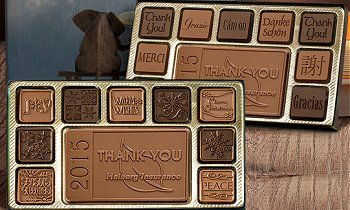 Custom Chocolate Assortments with your corporate logo